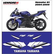 Calcomanias, Stickers Yamaha R1 2004-2006