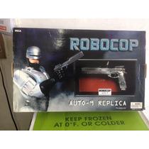Pistola Neca Robocop Auto-9 Replica En Caja 1/1 Coleccion