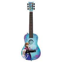 Guitarra Acustica De Disney Frozen Facil De Usar