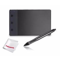 Tableta Dibujo Huion H420 Usb Diseño Arte - Negro