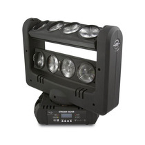 Cabeza Doble Barra Beam 8 Led Rgbw Stream Razor - Sun Star
