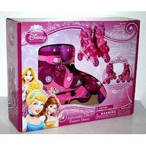 Patines 2 En 1 Disney Princesas Para Niñas De 3 A 6 Años.