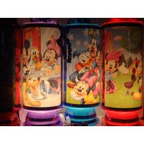 Mickey Mouse Centros De Mesa, Recuerdos, Lamparas, 1 Regalo