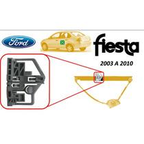 Base Para Elevador Ford Fiesta Trasero Izquierdo 2003 Al 10