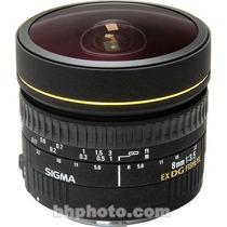 Ituxs I Lente Sigma 8mm F/3.5 Ex Dg Nuevo I Envio Gratis