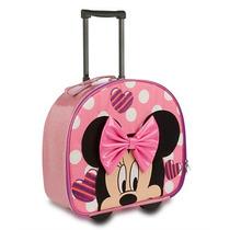Mochila Maleta Minnie Mouse Disney Store Hermosa