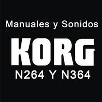 Manual En Español Korg N264 N364 Incluye Sonidos De Fábrica