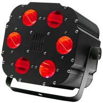 Luz Led Cubo Con 6 Cañones Rgb Aumento 4x Energia Linkeable.