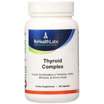 Rx Laboratorios De Salud Tiroides Complex - 60 Tabletas