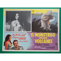 El Monstruo De Los Volcanes Ana Bertha Lepe Cartel De Cine