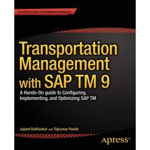 Transportation Management With Sap Tm 9 Pdf Ed. 2014
