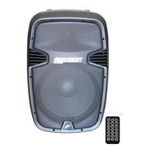 Oferta Bafle Biamplificado 6000w Usb Bluetooth Fm Fussion