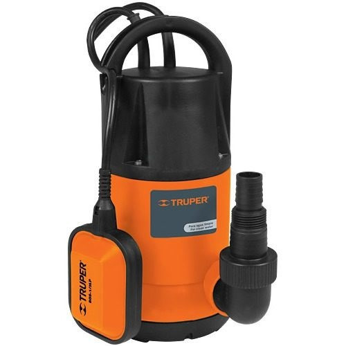 Bomba electrica sumergible agua limpia 1 2 hp truper 12601 - Bombas de agua electricas precios ...