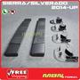 Silverado Estribos Negros De Aluminio Estilo Original De Usa