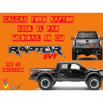 Calcomanias Ford Raptor.