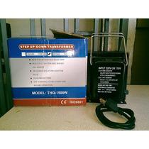Comvertidor De Voltaje 110-220v. 1500 Watts.