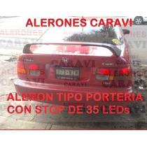 Civic Tuneame La Nave Con Este Super Aleron Porteria Alta