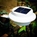 Lampara Solar, 3 Led, Blanco