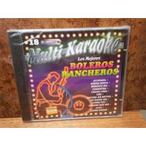 Boleros Rancheros. Los Mejores. Multi Karaoke. Cd.