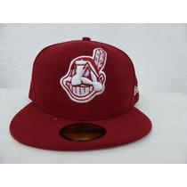 Gorra Original Newera Beisbol Indios Cleveland 7 1/4 59fifty