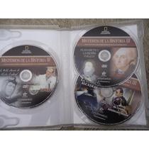 Paquete De 3 Dvds Misterios De La Historia El Antrax