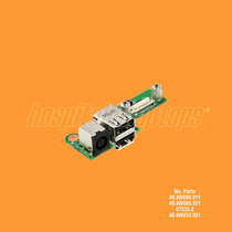 Power Jack Usb Board Laptop Dell Inspiron 1525 1526 07533-2
