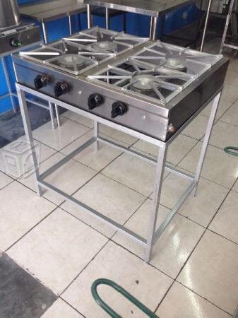 Parrilla plancha cocina estufa industrial 2200 bbj7g for Estufa industrial precio