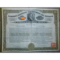 Bono - Ferrocarriles Nacionales De México, $1,000 Oro, 1911