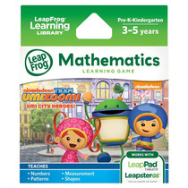 Leapfrog Team Umizoomi Learning Game: Umi City Heroes (for L