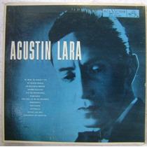 Agustin Lara Y Su Orquesta 1 Disco Lp Vinilo