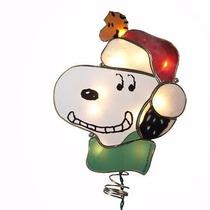 Kurt Adler Snoopy Iluminado Para Árbol De Navidad