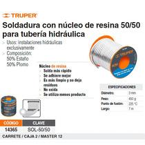 Soldadura Centricore 50/50 Para Tuberia Hidraulica