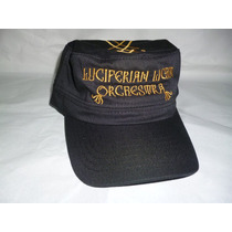 Luciferian Light Orchestra Gorra Bordada Tipo Militar