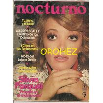 Silvia Pasquel Revista Nocturno 1975