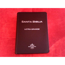 Biblia Mediana Letra Grande Indice Simi Piel Cafe Rv60