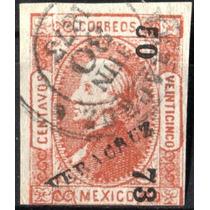 2992 Clasico Scott#95 Veracruz#50 73 25c Usado 1873