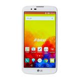 Celular Lg  16gb 3gb K410 Q10 Blanco Amovil
