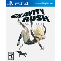 Ps4 - Gravity Rush Remastered - Nuevo - Ag