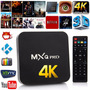 Android Tv Box 4k Mxqpro Android 5.1 Wifi Kodi 2016 !