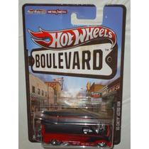 Hot Wheels Boulevard 85 Chevy Astro Van Llantas De Goma