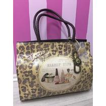 Bolsa Tate Original Estampado Vintage Y Animal Print Leopard