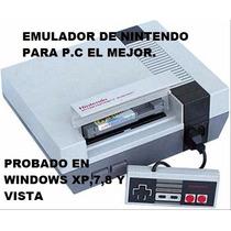 Emulador De Nintendo Para P.c,jueguitos Retro,emuladores.