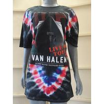 Camiseta Conmemorativa Van Halen 2015 De Coleccion
