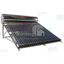 Calentador Solar 285 Litros. Acero Inoxidable