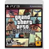 ¡¡¡ Grand Theft Auto San Andreas Para Ps3 En Whole Games !!!
