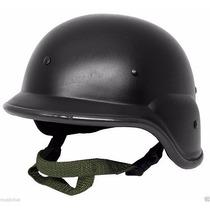 Militar Swat Kevlar M88 Pasgt Casco De Seguridad Negro