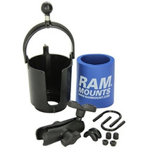 Soporte Ram Ram-b132r Drink Holder Copa Con U-bolt Base