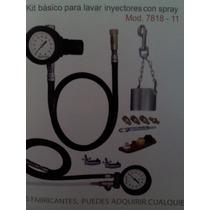 Kit Para Lavado De Inyectores Y Probador Bomba De Gasolina