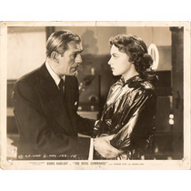 Foto The Devil Commands Boris Karloff Amanda Duff Columbia