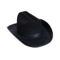Nueva Niño País Negro Cowboy Cow Boy Fieltro Disfraz Sombrer